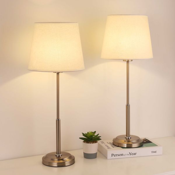 Bedside Table Lamps Set Of 2 Savesoo Com